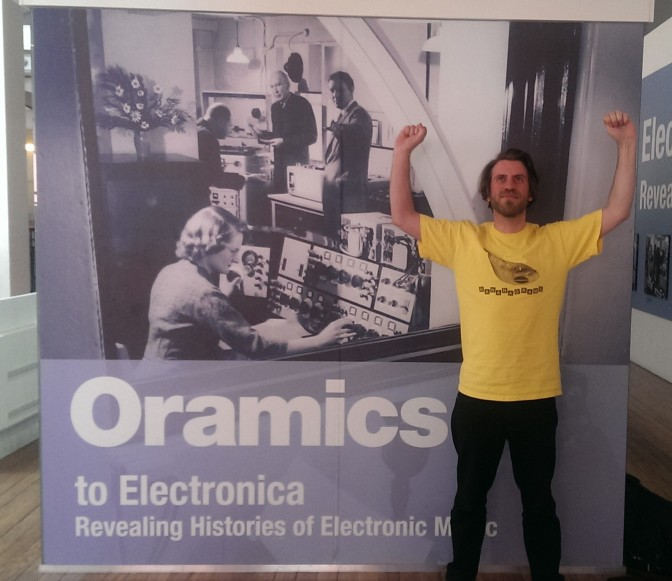Research visit to Oramics Machine